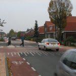 Grotebrugsegrindweg in Tiel - situatie na