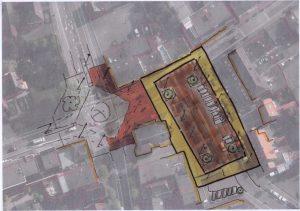 Plein Raadhuisplein ontwerpidee