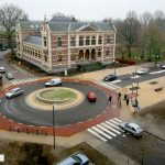 Rotonde Rechtbankstr NwTielseweg in Tiel