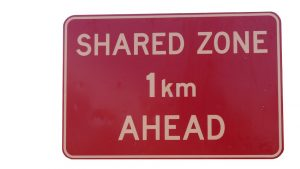 Shared Space - Shared Zone
